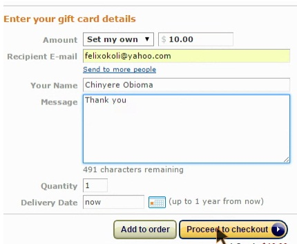 How to send Amazon Gift cards by email - Multidox .:.:. Blog